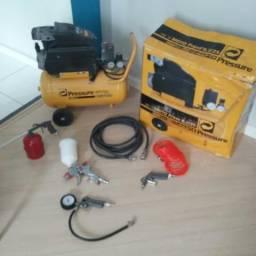 Compressor e kit troco parcelo