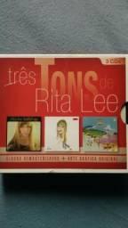 3 cds Rita Lee