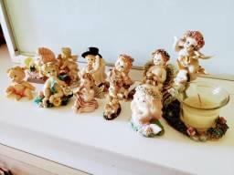 Coleção de anjinhos biscuit