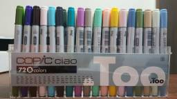 Kit copic ciao 72 cores