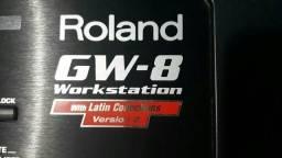 Teclado profissional e arranjador Roland GW8 v/ troco
