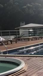 Aluguel loft Balneário Camboriú p 3 pessoas c academia e piscina