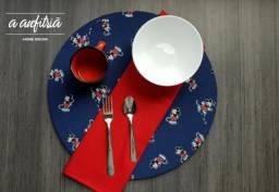 Sousplat Mickey - Decoração de mesa