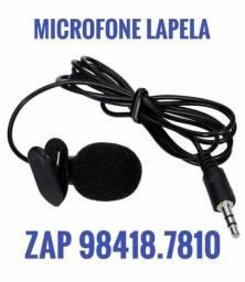 Microfone p/ Youtubers e palestras