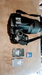 D5000 Nikon semi nova