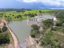 100 Alq. (484 Há). Dupla - Aptidão. Uruaçu/GO. Rica em Água | Boa Estrutura