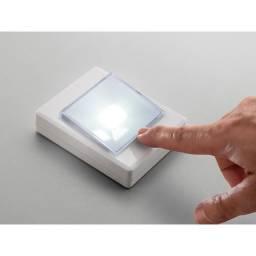 Button Led Luminaria Botão 3W Elgin Para Armarios Closets Porta Malas - Loja Natan Abreu