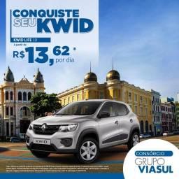Consorcio, adquira seu Kwid com apenas R$ 14,00 reais por dia