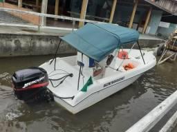 Usado, Lancha brasboat 16 pés comprar usado  Joinville