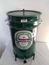 Lixeiras Cervejeiras metálicas personalizadas 60 litros