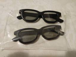 Trio de Óculos 3D passivo