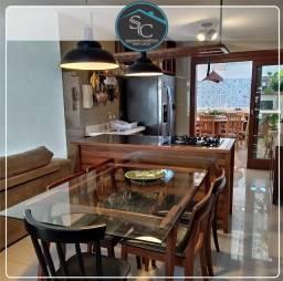 Linda Casa em Condomínio no Eusébio 145m², 3 suítes, piscina, deck, sauna