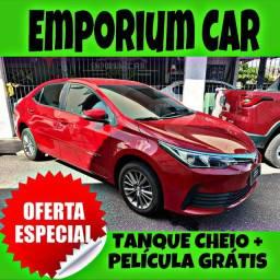 TANQUE CHEIO SO NA EMPORIUM CAR!!! TOYOTA COROLLA GLI PEPPER 1.8 AUT ANO 2018