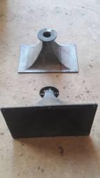 Boca de corneta aluminio