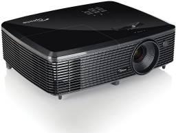 Projetor Optoma Full HD 3D DLP top 1080p 3000 Lumens 23.000 contraste - Parcelo no Credito