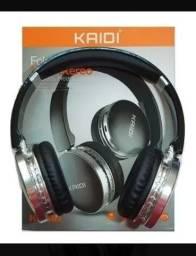 Fone de ouvido Bluetooth kaidi KD-918 original lacrado.