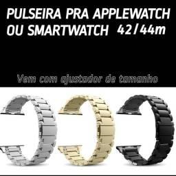 Pulseira super luxo pra smartwatch e Apple whatch