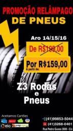 Título do anúncio: PNEU REMOLD MELHOR PREÇO E QUALIDADE DE CURITIBA * / 3268-0401 PNEUS