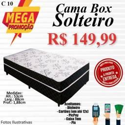Título do anúncio: CAMA BOX SOLTEIRO