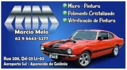 Título do anúncio: Pintura de Autos e reforma de para choques e polimentos