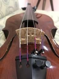 Título do anúncio: Violino profissional antigo bohmishe arbeit