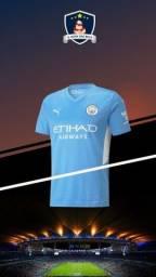 Título do anúncio: Camisa Manchester City modelo Home 2021