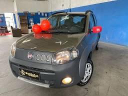 Título do anúncio: Fiat uno 1.0 way completo placa i  * 70.000 km impecável