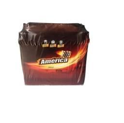 Bateria America 45 ah linha Heliar 15 mese garantia com a bateria velha vubha oyzaz