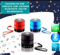 Título do anúncio: Mini caixa de som Bluetooth Por R$ 35 passo cartão