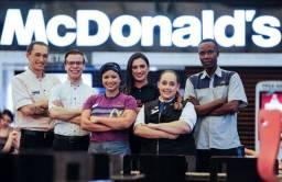 Título do anúncio: Vagas de Emprego - McDonald's Cabral