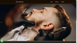 Criação de sites para Barbearia ($Promoção-Limitada$)