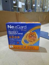 Anti Pulgas e Carrapatos Nex Gard Spectra (PP) Para Cães de 2 a 3,5kg - 1 Tablet