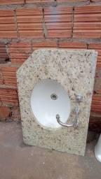 Título do anúncio: Vende-se pia banheiro mármore