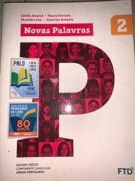Livro de português Novas Palavras 2