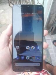 Título do anúncio: Celular Nokia 128 gb vendo ou troco com volta do interessado