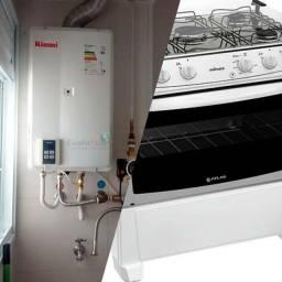 Consertos aquecedores e fogão