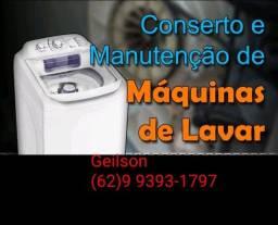 Título do anúncio: Conserto de máquinas de lavar roupas