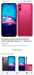 Moto E6i pink