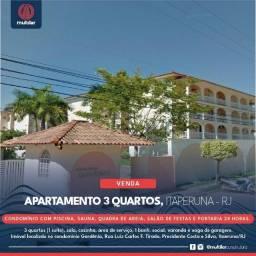 Apartamento de 3 Quartos, Itaperuna - RJ