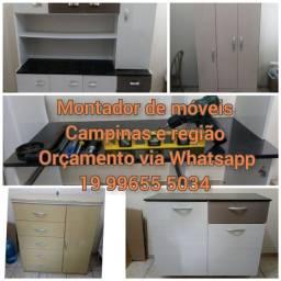 Montador de móveis Campinas e região