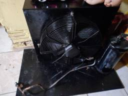 Condensador,  completo trifásico, motor mt 36