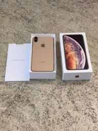 iPhone XS Max Dourado 256gb Perfeito