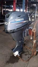 Título do anúncio: Motor de popa Yamaha 20hp 4t