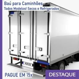 Título do anúncio: Baú Refrigerado e Baú Seco para Caminhão Modelo: T 396