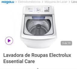 Título do anúncio: Lavadora Electrolux 17kg Led Nova