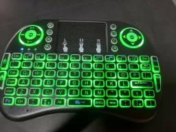 Mini teclado sem fio para Tv Box e Pc