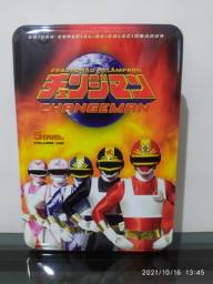 Título do anúncio: Box DVDs Edição Colecionador Changeman (5DVDs)