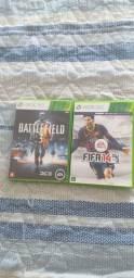 Battlefield 3 e Fifa 14 originais
