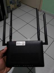 3 modem de internet fibra óptica