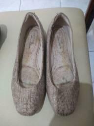 Título do anúncio: Sapato Modare bege ultra conforto